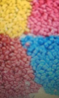 Colored LD Plastic Granules