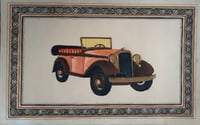 Vintage Classic Car Painting