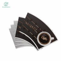 Raw Materials Single PE Coated Paper Cup Fan