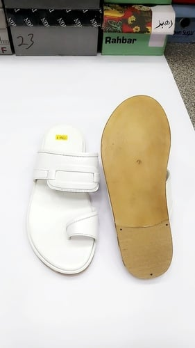 Pure Leather Sole Men's Chappal