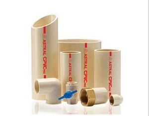 Astral CPVC Pipes Fittings