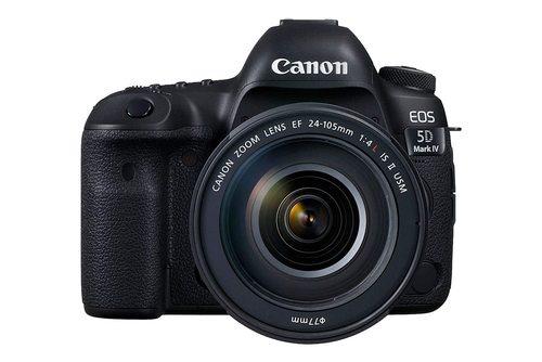 EOS 5D Mark IV 30.4 MP Digital Camera With Lens Kit (Canon)