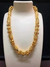 Imitation Hollow Gold Chain