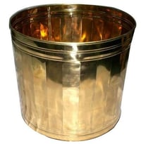 Portable Brass Planters For Indoor And Outdoor