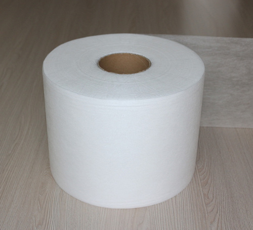White Meltblown Non Woven Fabric Roll