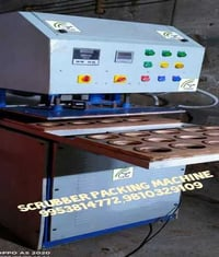 Rotating Scrubber Packing Machine at Ghaziabad