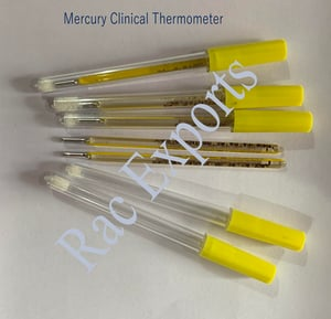Clinical Mercury Thermometer with High Accuracy