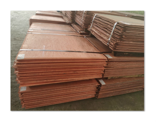 99.99% Purity Copper Cathode Sheet