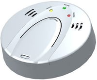 Wireless Standalone Battery Powered CO Alarm Detector
