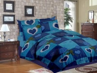 Printed Cotton Quilted Bedspread