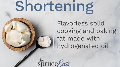 Fat Shortening Used In Cooking And Baking