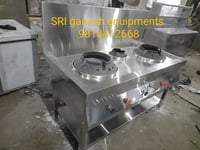 Stainless Steel Chinese Gas Range
