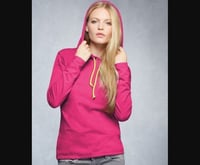 Ladies Casual Hooded Cotton T-Shirts