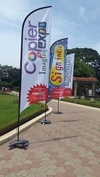 Printed Promotional Feather Flag