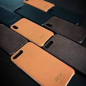 Genuine Leather iPhone Cover