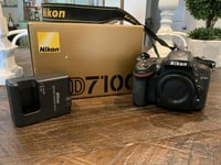 Nikon D7100 24.1MP Digital SLR Camera With Battery And Charger