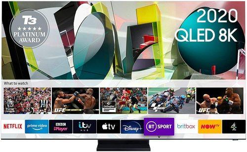 Samsung Q950t Flagship Qled 8k Hdr 4000 Smart Tv