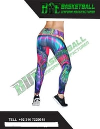 Polyester Nylon Sublimated Legging