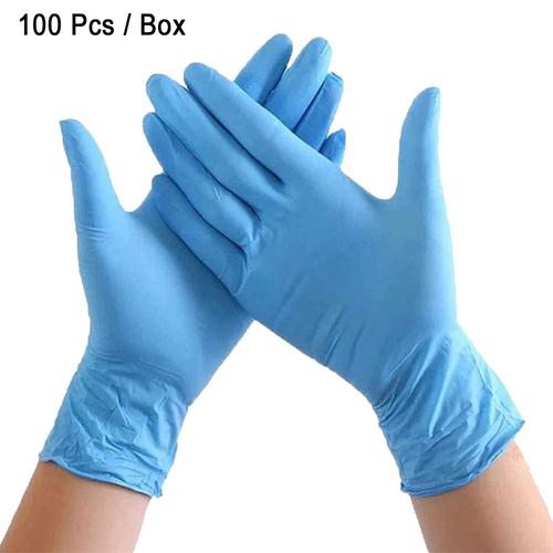 Powder Fress Nitrile Gloves