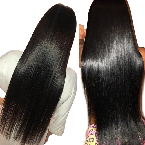 Black Colored Brazilian Human Hair