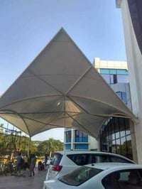 Conical And Inverted Cone Tensile Structure