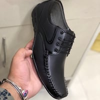 Mens PVC Leather Formal Shoes