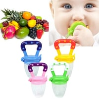 FDA Approved Silicone Baby Fresh Fruit Food Feeder