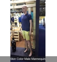 Skin Colour Standing Male Mannequin