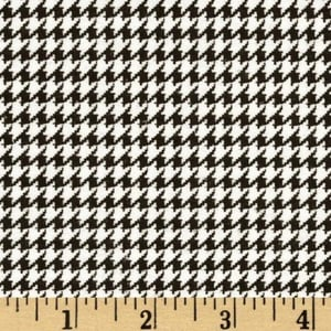 Houndstooth Wool Fabric For Garment And Home Furnishing