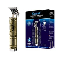 Kemei 1974A Metal Pro T Outliner Cordless Trimmer