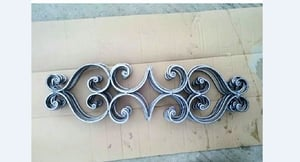 Forged Steel Wrought Iron Decorative Panel Fence