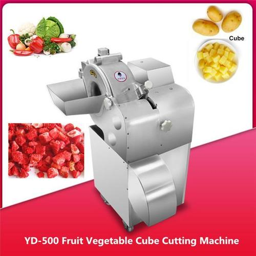 Automatic Fruit Vegetable Cube Cutting Machine