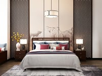Queen Size Home Double Bed