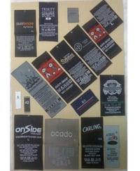 Customized Woven Labels For Garments