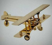 Brass Plane Pattern Model