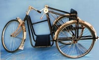 Handicapped Tricycle With 12mm Ply for Seat and Back