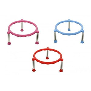 Single Ring Pot Stands with Stainless Steel Legs