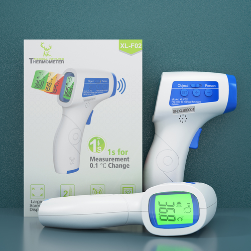 Healthcare Digital Non-Contact Infrared Forehead Thermometer