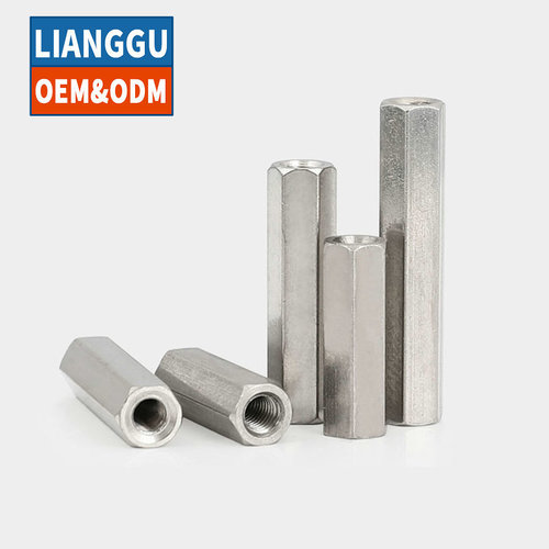 Nickel Plated Outer Hexagon Double Pass Brass Isolation Column