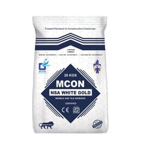 Mcon NSA White Gold Marble and Tile Adhesive