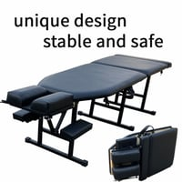 Chiropractic Massage Leather Table