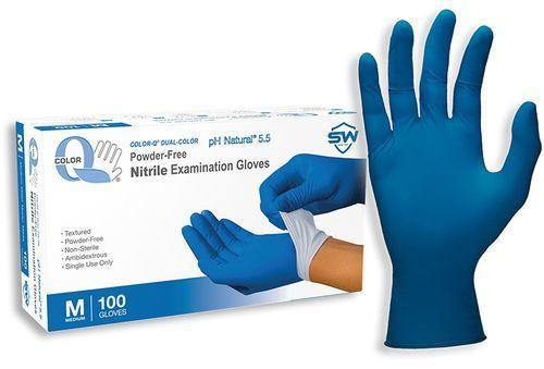 Nitrile Disposable Latex Examination Gloves