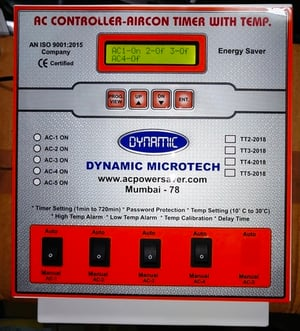 4 Air Conditioner Controller With Timer