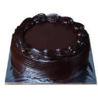 Delicious Chocolate Truffle Cake