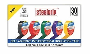 Steelgrip Self Adhesive PVC Electrical Insulation Tape