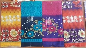 Soft Chiffon Sarees with Separate Blouse