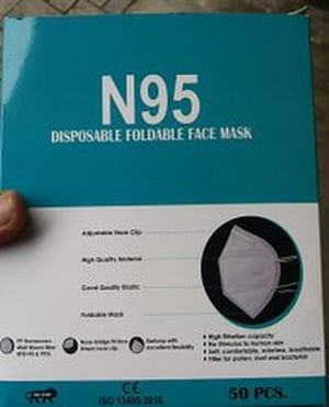 Disposable 5 Ply N95 Face Mask