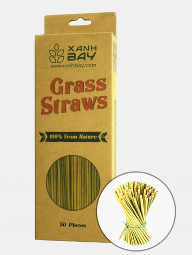 Disposable Dried Grass Straw