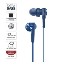 Renewed Premium MDR-XB55AP In-Ear Extra Bass Headphones With Mic