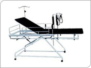 Stainless Steel Gynecological Examination Bed